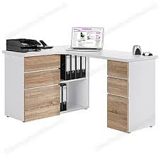 dalton corner computer desk sand oak. Interesting Dalton Radcliff Corner Computer Desk Oak White With Dalton Corner Computer Desk Sand Oak