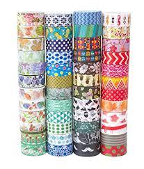 Best Masking Tape For Decorating Amazon Washi Tape Set of 100 RollsDecorative Washi Masking 94