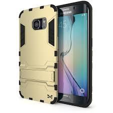 samsung galaxy s6 gold case. s6 edge case, ghostek armadillo gold samsung galaxy case w/ screen protector