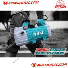 Máy xịt rửa xe cao áp mini 1500W Total TGT11236 Motor Từ áp lực nước mạnh,  vệ sinh sàn nhà sân vườn, rửa xe máy ô tô