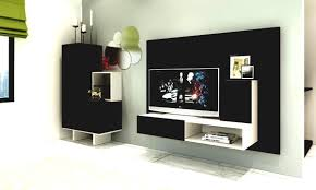 simple wall showcase designs for living room indian style