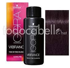 Schwarzkopf Demi Permanent Dye Igora Vibrance 3 19 Black Violet Ash 60ml