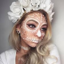 sugar skull hallwoeen make up by megnic