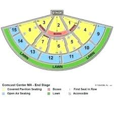 Xfinity Theater Ct Seating Chart Xfinity Center Seating Map Yourhomecare Info