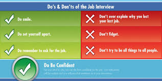 Interview Dos And Don Ts How To Impress Your Future Employer In A Job Interview