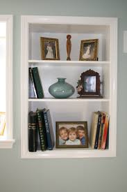 Built In Wall Shelves Interior Great Wall Shelves For Books To Open The World Through