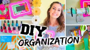 Diy Organization Diy Room Organization Easy Ways To Organize Youtube