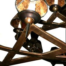 inquire about custom shades if needed contemporary wrought iron two tier rusty chandelier