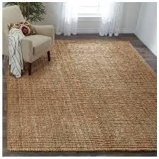 details about safavieh hand woven natural carpet fiber jute area rug decor texture 6 x9 new