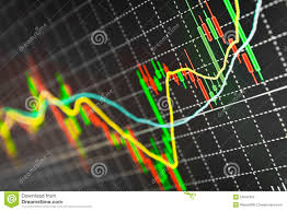 Chart Stock Photo Computer Monitor Stock Chart Stock Photo Image Of Market