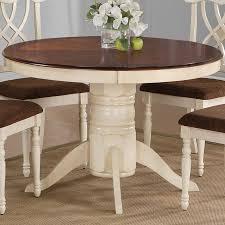 breathtaking white round pedestal dining table 60 round