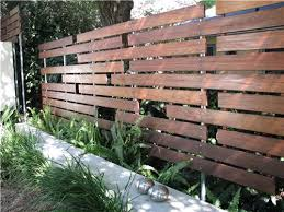 Small Picture Modern Fencing Walls Landscaping Network