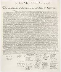 the declaration of independence the patriot post the declaration of independence