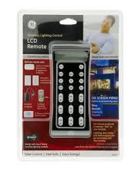 ge z wave wireless lighting control lcd remote 45633 large ge wave wireless lighting control