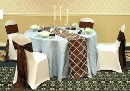 table runners for round tables round tables decorations ideas terrific