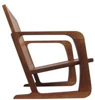 art moderne furniture. kem weber american art deco arm chair for mueller furniture co moderne n