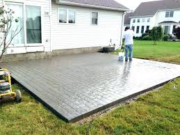cost of patio pavers concrete patio cost vs stamped concrete patio vs stamped cost of patio cost of patio pavers