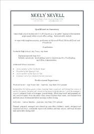 Resumes For Babysitters Babysitting On Resume Example Mmventures Co