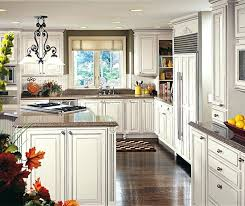 white glazed cabinets off white glazed cabinets in a traditional kitchen in maple with espresso glaze