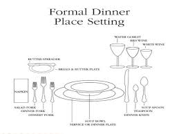 fine dining table setting diagram. page 10; 11. fine dining table setting diagram