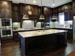 kitchens with dark cabinets wooden kitchen best of light woo