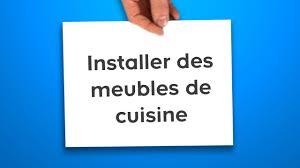 Installer Des Meubles De Cuisine Castorama Youtube