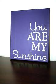 you are my sunshine wall decor wooden sign plaque uk deco