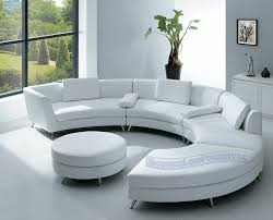 White Furniture For Living Room Room Furniture With Elegant Half Circle Sofa Home Interior Designs