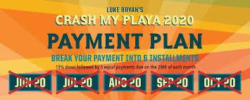 Packages Luke Bryans Crash My Playa Riviera Maya Mexico 2019