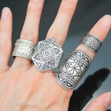 Aliexpress.com : Buy Pack 4 Men Silver Tribal Celtic Pentacle ...