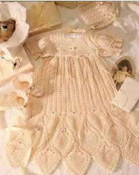Free Crochet Christening Gown Patterns Magnificent Decorating Design