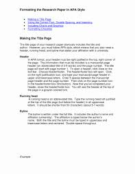 013 Apa Style Format Research Paper Example Template New Heading