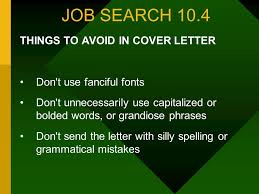 10 job cover letter phrases to use