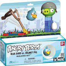 Angry Birds K'Nex Blauer Vogel vs Helmet Schwein [UK Import]: Amazon.de:  Spielzeug