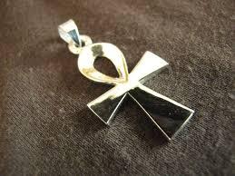silver egyptian ankh pendant silver