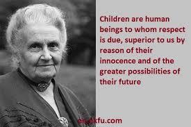 Maria Montessori Quotes Best 48 Best Montessori Quotes Images On Pinterest Maria Montessori
