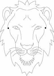 lion mask to color and craft into a wearable paper lion Lion King Mask Template king nalas microsoft business plan powerpoint template,business free download on marketing template powerpoint