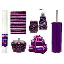 Purple Bathroom Accessories Set Accessories Personable Ideas About Purple Bathrooms Bathroom