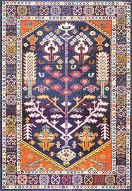 nuloom vintage medallion rima rzbd33b purple area rug contemporary area rugs by incredible rugs and decor