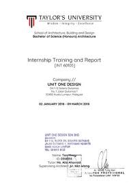 Training Report Cover Page Internship Report By Yincytwk Issuu