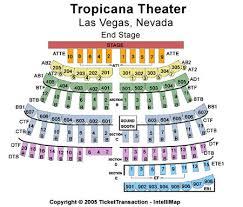 Tropicana Showroom At Tropicana Hotel Casino Tickets