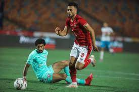 الدوري الممتاز  صلاح محسن يسجل الهدف الأول للأهلي أمام الزمالك