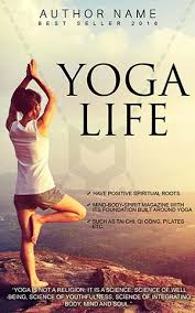 nonfiction book cover design yoga front