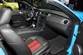 dash 2010 shelby gt500 with red stripe convertible