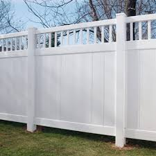 white fence panels. Outdoor White Vinyl Privacy Screen | Home Depot Fence Panels