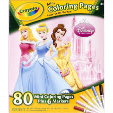 Small Picture Crayola Mini Colouring Pages Disney Princess Toys R Us