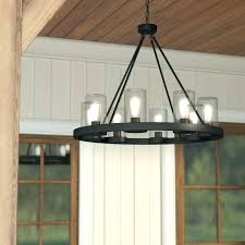 exciting outdoor chandelier lighting laurel foundry modern farmhouse mount 8 light outdoor chandelier lighting black outdoor