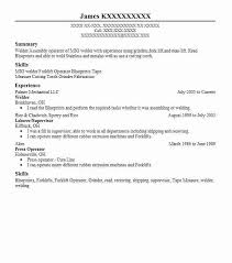 Eye Grabbing Welder Resume Samples Livecareer