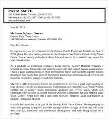 Bunch Ideas Of Youth Worker Cover Letter 9 14 Sample Social