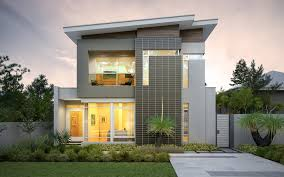 Townhouse Designs Melbourne 2 Storey Narrow Lot Homes Perth Broadway Homes